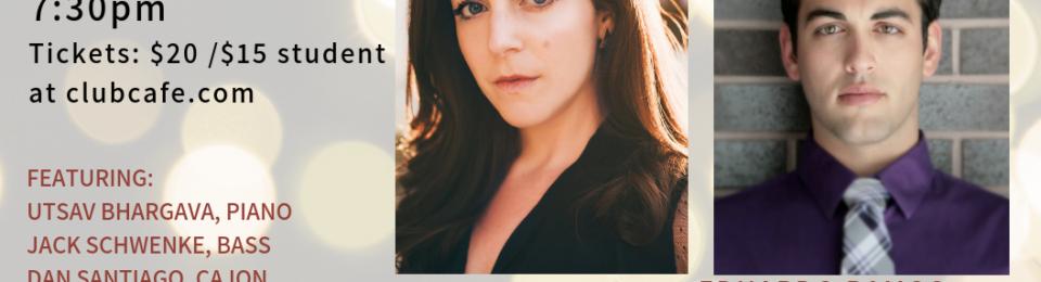 Opera on Tap Presents: Jennifer Caraluzzi and Eduardo Ramos in #DUETALLNIGHT